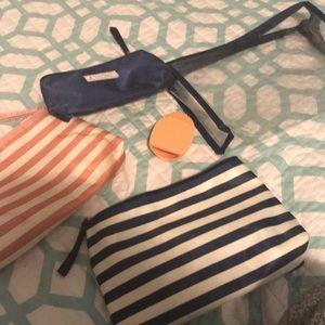 5 pack makeup bags